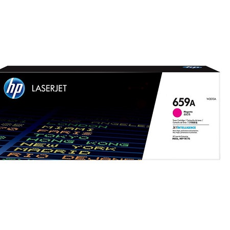 HP 659A (W2013A) Magenta Original Standard Capacity Toner Cartridge