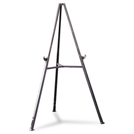 Ghent Triumph Display Easel  Adjust 36 to 62 High  Gray