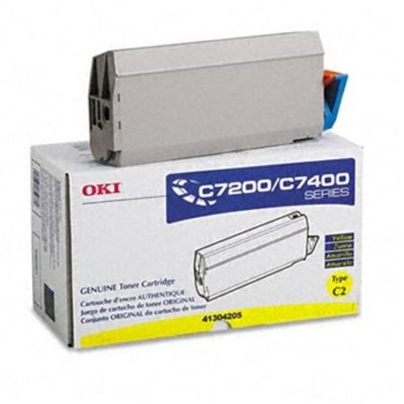 OKI 41304205 Yellow Original Toner Cartridge
