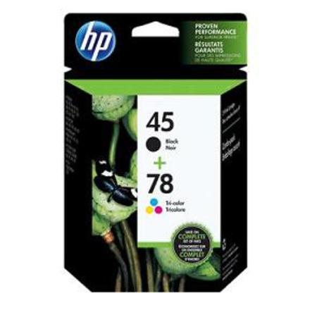 HP 45/78D Original Inkjet Print Cartridge Combo Pack (C8788FN)