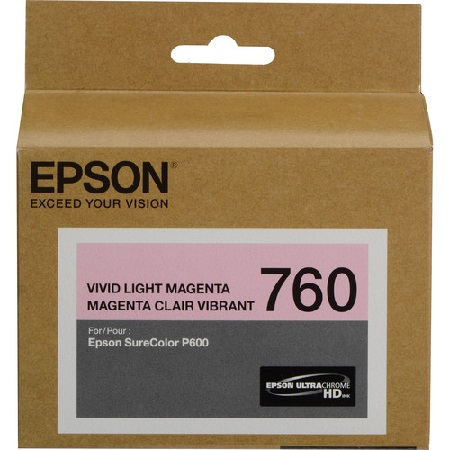 Epson T7606 (T760620) Light Magenta Original Ink Cartridge