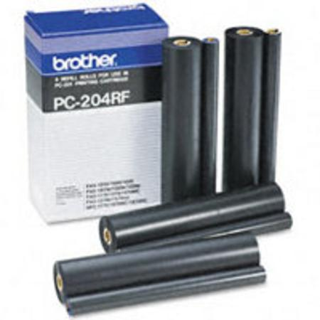 Brother PC204RF Original Ribbon Refills (4 Pack)