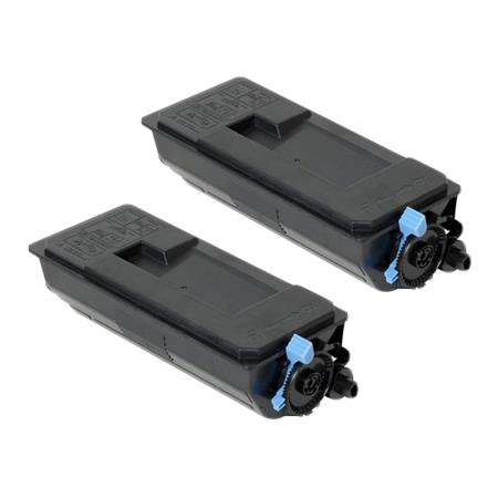 Compatible Twin Pack Black Kyocera TK-3102K Toner Cartridges