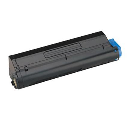 OKI 43502001 (Type 9) Black High Yield Remanufactured Laser Toner Cartridge (B4600)