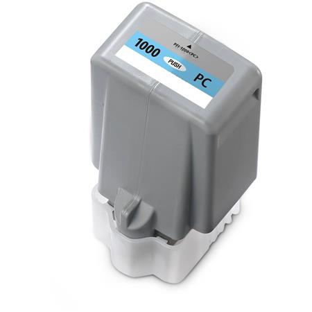 Compatible PhotoCyan Canon PFI-1000PC Ink Cartridge (Replaces Canon 0550C001)