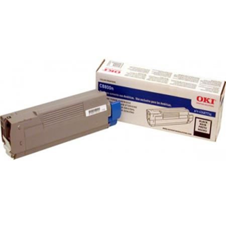 OKI 43487736 Black Original Toner Cartridge