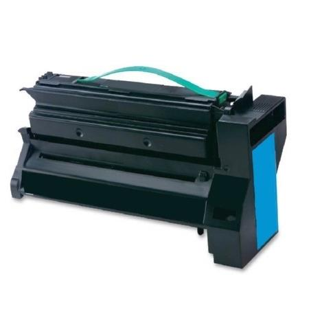 Compatible Cyan Lexmark C782X2CG Extra High Yield Toner Cartridge