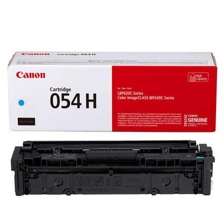 Canon 054HC (3027C001) Cyan Original High Capacity Toner Cartridge