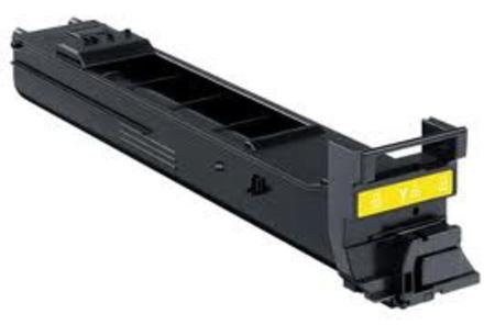 Konica-Minolta A0DK232 Yellow Remanufactured Toner Cartridge