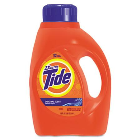 Procter & Gamble Ultra Liquid Tide Laundry Detergent 50 oz Bottle Single