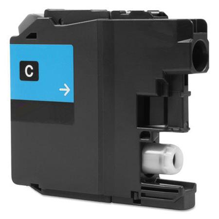 Compatible Cyan Brother LC20EC Extra High Yield Ink Cartridge