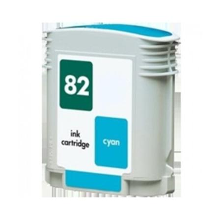 HP 82 Remanufactured Cyan Inkjet Cartridge (C4911A)