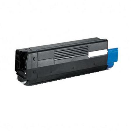 Compatible Cyan Oki 42127403 Toner Cartridge