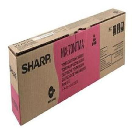 Sharp MX70NTMA Magenta Original Toner Cartridge