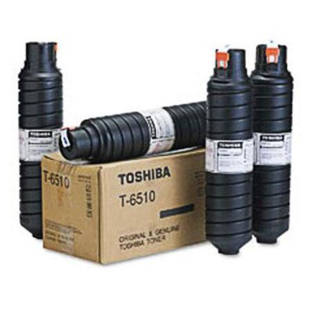 Toshiba T6510 Black Original Toner Cartridge ( 4 pack)