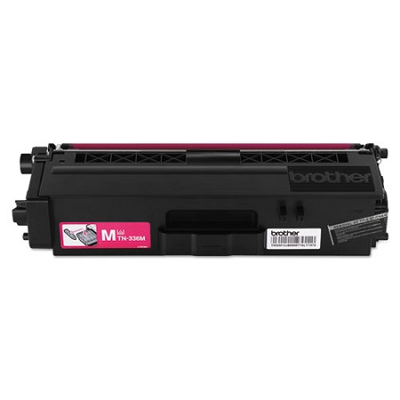 Brother TN336M Original High Capacity Magenta Toner Cartridge