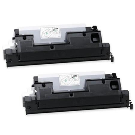 412660 Black Remanufactured Toner Cartridge Twin Pack