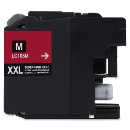 Compatible Magenta Brother LC105M Extra High Yield Ink Cartridge