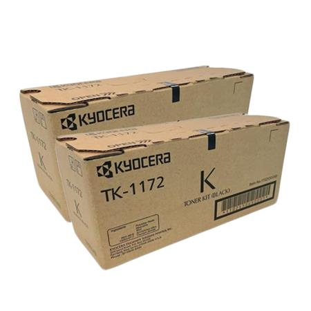 Kyocera TK-1172K Black Original Toners Twin Pack