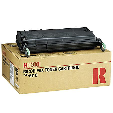 Ricoh 430452 (Type 5110) Black Original Toner Cartridge