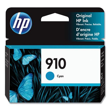 HP 910 (3YL58AN) Cyan Original Standard Capacity Ink Cartridge