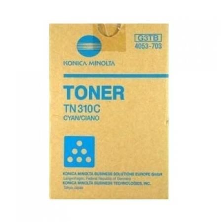 Konica-Minolta 4053-701 Cyan Original Toner Cartridge TN310