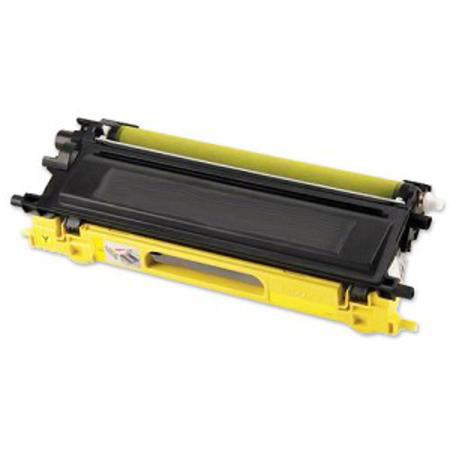 Brother TN210Y Remanufactured Yellow Toner Cartridge