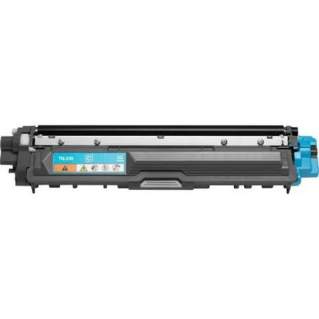 Brother TN225C Cyan Remanufactured High Capacity Toner Cartridge