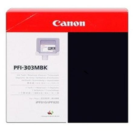 Canon PFI-303MBK Original Matte Black Ink Cartridge