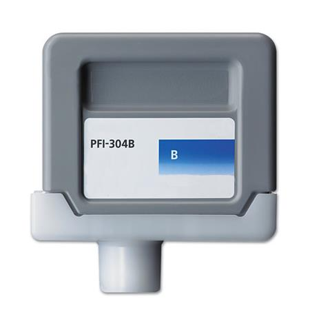 Canon PFI-304B Compatible Blue Ink Cartridge