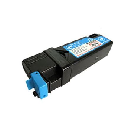 Dell T107C Original High-Capacity Cyan Toner Cartridge (330-1437)