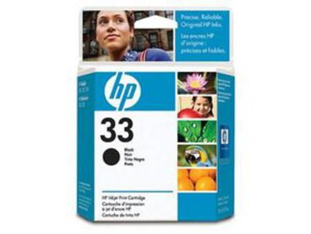 HP 33 Black Original Inkjet Print Cartridge (51633M)
