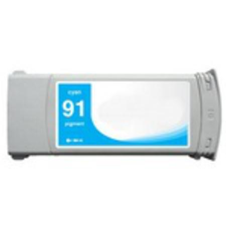 HP 91 Cyan Pigment Remanufactured  Ink Cartridge (C9467A) (775ml)