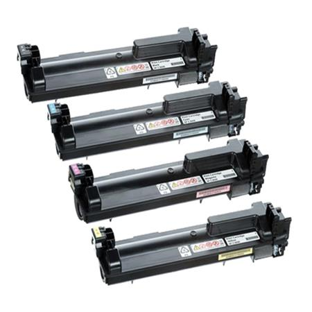 Ricoh 408180/183 K/C/M/Y Full Set Original Toner Cartridges