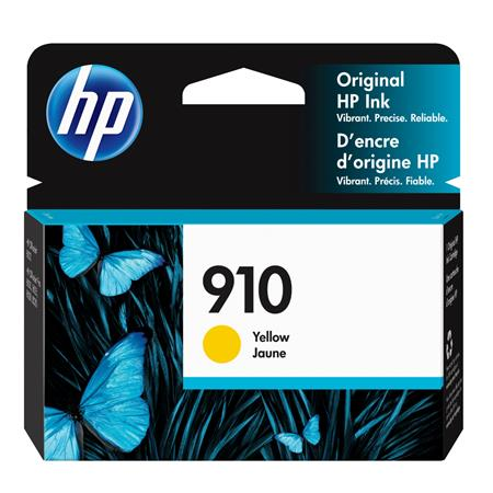 HP 910 (3YL60AN) Yellow Original Standard Capacity Ink Cartridge