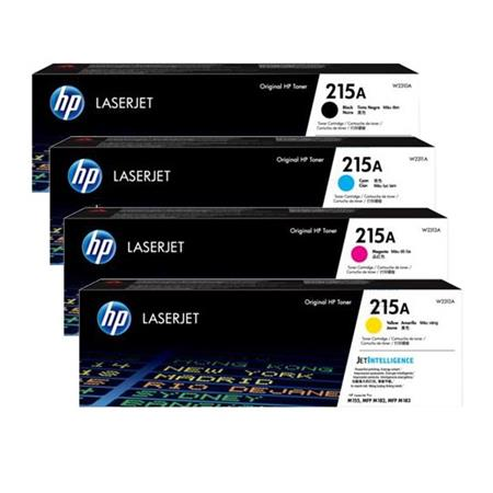 HP 215A Full Set Original Standard Capacity Toner Cartridges