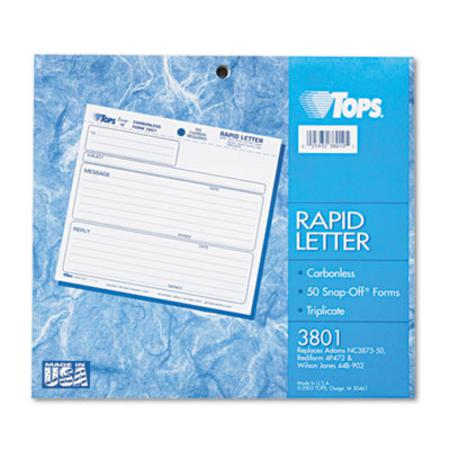 Tops Rapid Letter Snap-Off Set