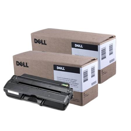 Dell 331-7328 Black Original High Capacity Toner Cartridges Twin Pack