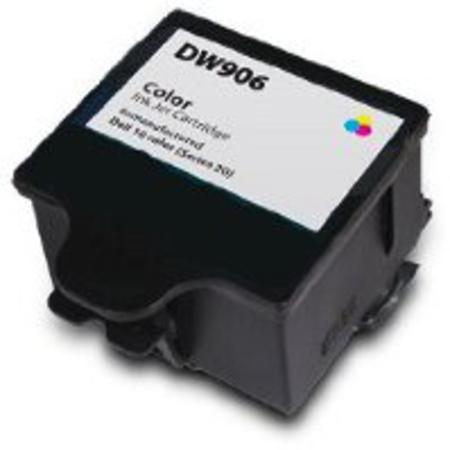 Dell DW906 Color Remanufactured Ink Cartridge