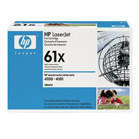 HP LaserJet 61X (C8061X) Black Original High Capacity Print Cartridge with Smart Printing Technology