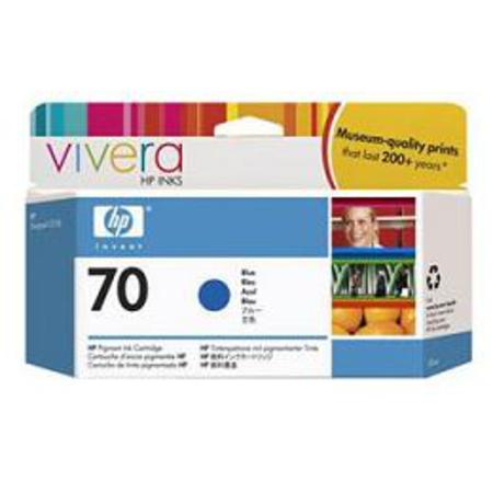 HP 70 Original Blue Ink Cartridge (C9458A)