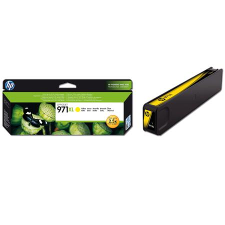 HP 971XL Yellow Original High Capacity Ink Cartridge (CN628AM)