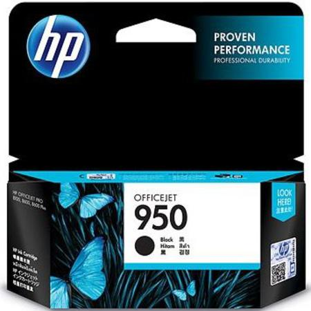 HP 950 (CN049AN) Black Original Standard Capacity Officejet Ink Cartridge