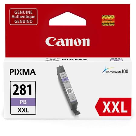 Canon CLI-281PBXXL Photo Blue Original Extra High Capacity Ink Cartridge