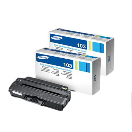 MLT-D103L Black Original Toner Cartridge Twin Pack