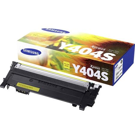 Samsung CLT-Y404S Yellow Original Toner Cartridge