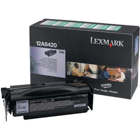Lexmark T430 Original High Yield Print Cartridge