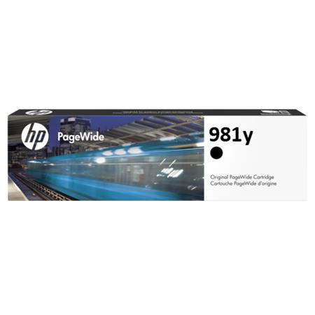 HP 981Y (L0R16A) Black Original Extra High Capacity PageWide Ink Cartridge