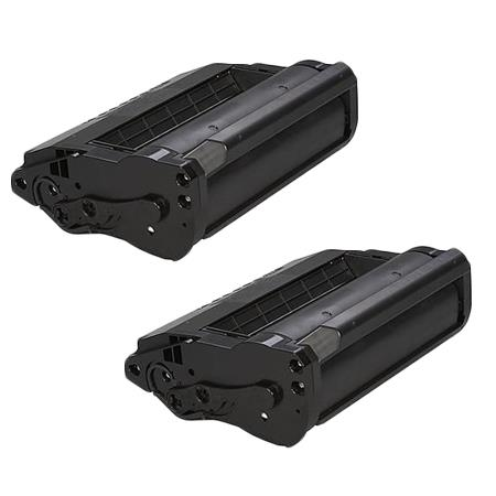 406683 Black Remanufactured Toner Cartridge Twin Pack
