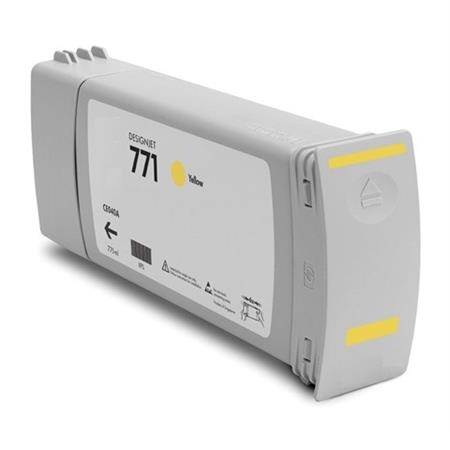 Compatible Yellow HP 771 Ink Cartridge (Replaces HP CE040A)